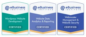 ebusiness institute webmaster and web design certification