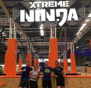 Matt Raad and Joe Burrill Ninja Warrior Training