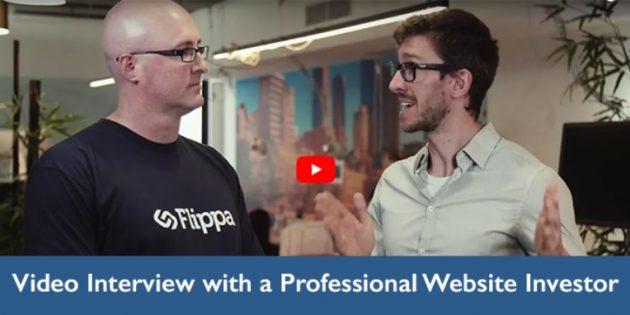 Professional website investor Joe Burrill mentored by Matt Raad