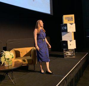 Liz Raad speaker at Pause Fest Business Conference Melbourne