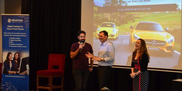 Alborz Fallah speaks with Matt and Liz Raad