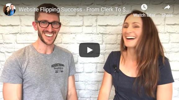 Website Flipping Success interview Liz Raad