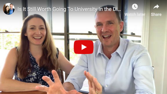 Is It Still Worth Going to University in the Digital Age?