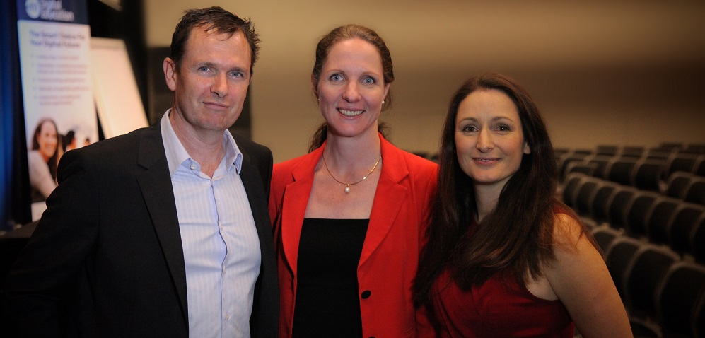 Jeanette Jifkins with Matt and Liz Raad  at E-Business Digital Marketing Conference