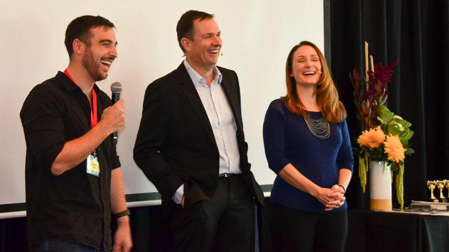 Chris Dinham speaks at Digital Investment Summit with Matt and Liz Raad