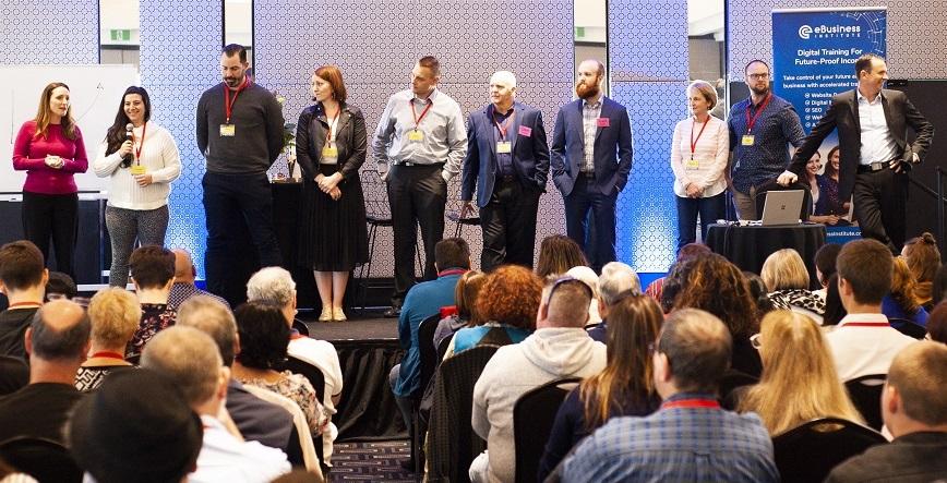 eBusiness Institute Graduates at Digital Marketing Training Event