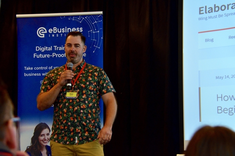 Pete discusses with Matt and Liz Raad how he uses digital skills to increase website investment in 90 days
