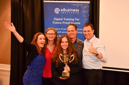 Anner family win E-Business Graduates Of The Year For Online Entrepreneurship