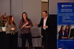 Renee Curran interviewed by Matt and Liz Raad on how she built a digital business