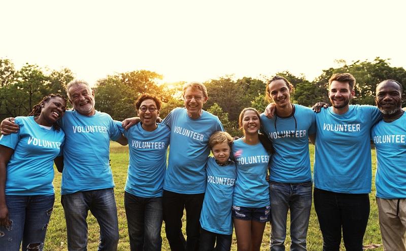 Volunteers help build online store for charity