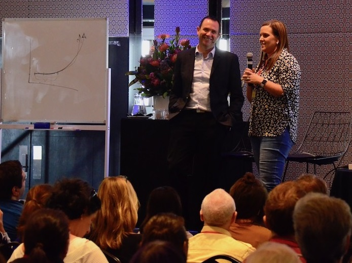 Renee Curran shares how she achieved Matt Raads graph