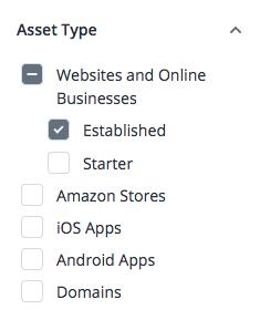 Searching for Established Websites for Sale on Flippa