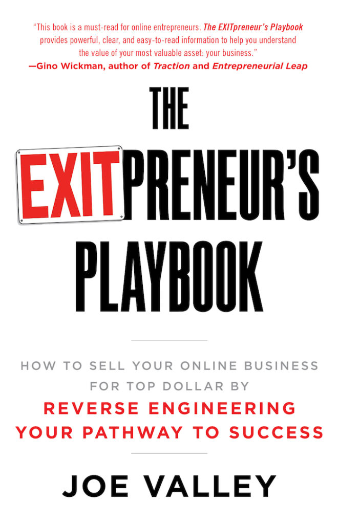 joe valley exitpreneurs book review